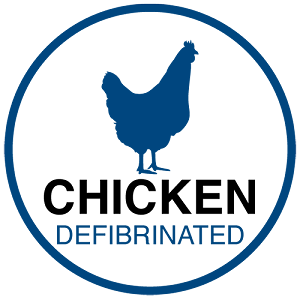 CHICKEN DEFIBRINATED